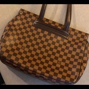 Authentic LV Parioli PM Damier Ebene